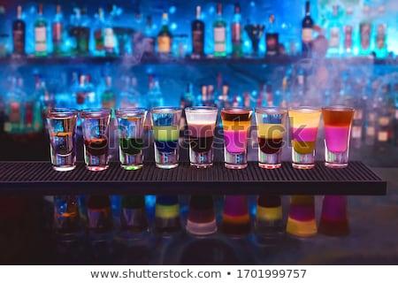Discotheek barman restaurant tabel bar Stockfoto © jordanrusev
