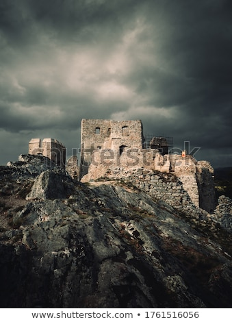要塞 · 詳細 · 軍事 · 砦 · ボックス · 日光 - ストックフォト © manera