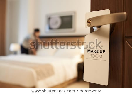Please make up my room sign  Stock photo © mady70
