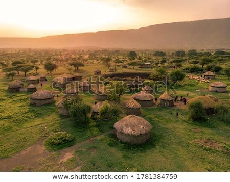 Masai Stock photo © adrenalina