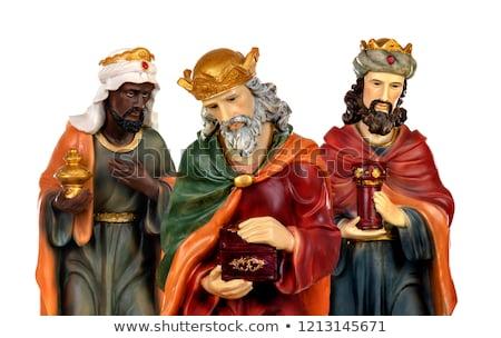 Tres sabio hombres oro incienso ilustración Foto stock © adrenalina