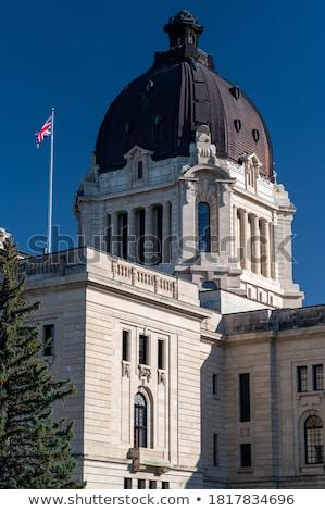 Saskatchewan · zászló · Kanada · izolált · vágási · körvonal · folyam - stock fotó © benkrut