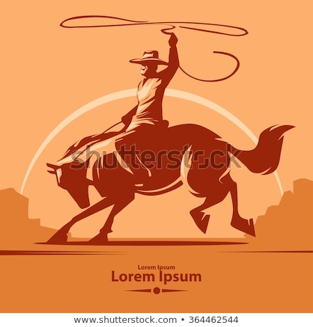 American Old Western Icons Stock photo © artisticco