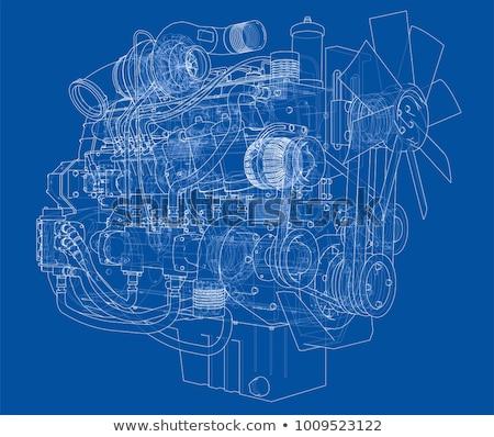 車 · メカニック · メンテナンス · アイコン · 修復 - ストックフォト © genestro