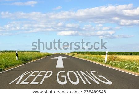 dont stop word stock photo © fuzzbones0
