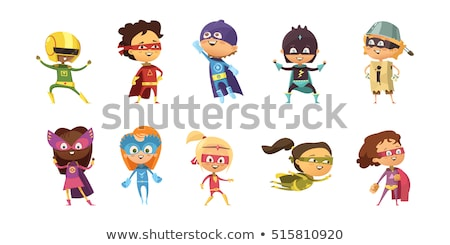 Superhero Аватара вектора графических искусства Сток-фото © vector1st