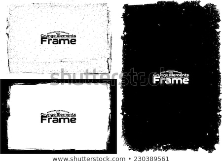 grunge frame abstract texture stock vector design template stock photo © vector1st