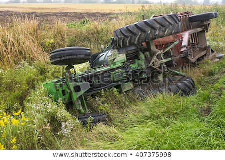 Tractor accident Stock photo © 5xinc