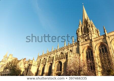 oxford · Universidad · iglesia · virgen · Inglaterra - foto stock © chrisdorney