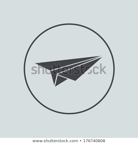 бумаги · плоскости · икона · цвета · дизайна · небе - Сток-фото © creativika