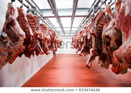 kwaliteit · vlees · slager · winkel · Rood - stockfoto © meinzahn