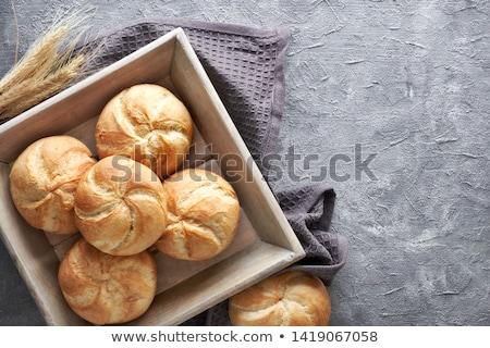varietà · pane · di · frumento · tradizionale · pane · alimentare · sfondo - foto d'archivio © digifoodstock
