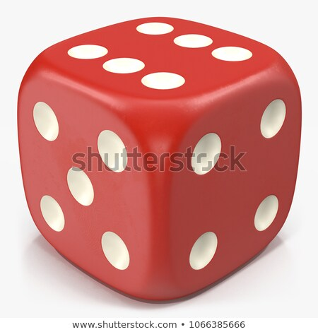 Six gaming dice Stock photo © Cipariss