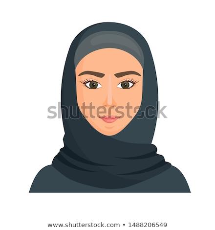 Arapça · Müslüman · hamile · kadın · kadın · aile · el - stok fotoğraf © nikodzhi