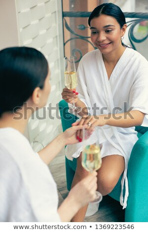 女性 リング 友達 バルコニー ホーム ストックフォト © wavebreak_media