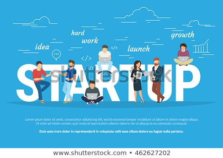 idee · business · startup · banner · poster · menselijke - stockfoto © shai_halud