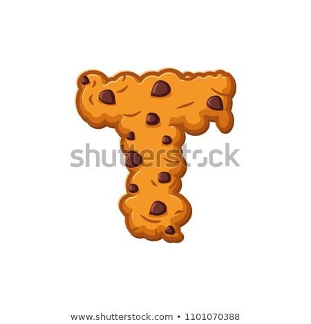 Carta cookies cookie fuente galleta Foto stock © popaukropa