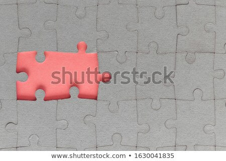 harmony   puzzle on the place of missing pieces stock photo © tashatuvango