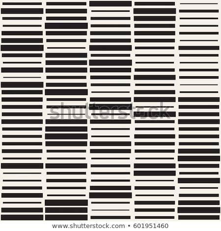 Vetor sem costura preto e branco grade padrão Foto stock © Samolevsky