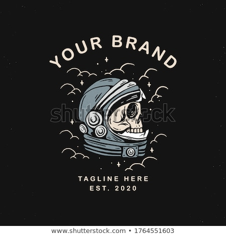 Dead space. Astronaut died. Skull in a spacesuit. Black universe Stock photo © popaukropa