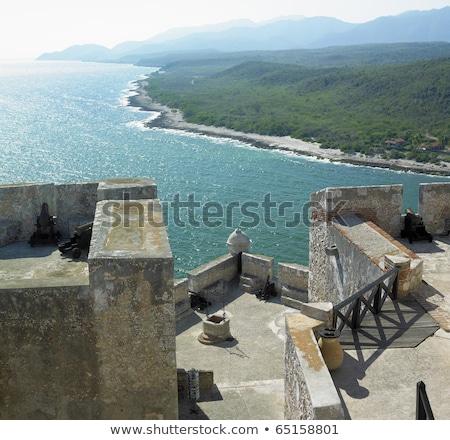 San Pedro de la Roca Castle, Santiago de Cuba Province, Cuba Stock photo © phbcz