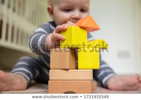 Juego educativo ninos rompecabezas desarrollo pensando Foto stock © Olena