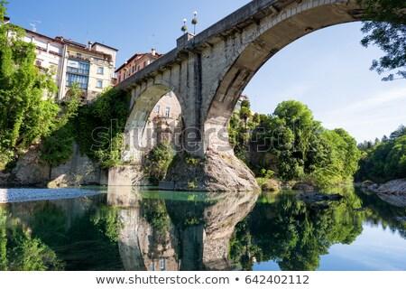 Italian heritage in Cividale del Friuli Natisone river ancient s Stock photo © xbrchx
