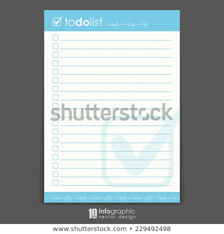 Stock photo: Content To Do List Concept