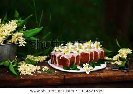 miodu · cytryny · ciasto · tle - zdjęcia stock © zoryanchik