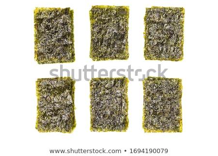 сушат азиатских съедобный морские водоросли листьев Сток-фото © nito