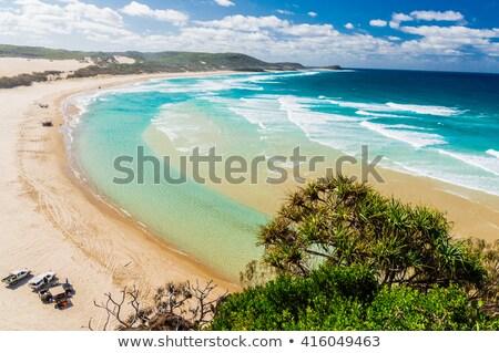 Remoto praia sul costa Austrália surfar Foto stock © lovleah