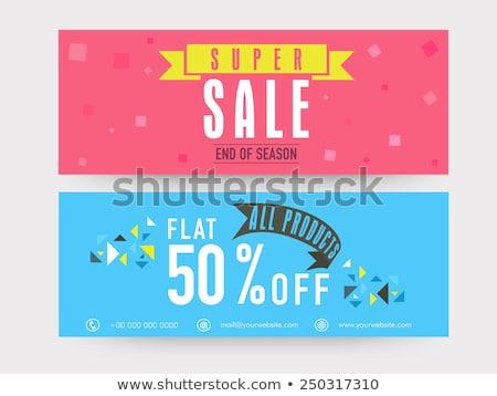 80 · financière · vente · nombre · acheter · face - photo stock © robuart
