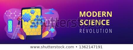 graphene technologies concept banner header stock photo © rastudio