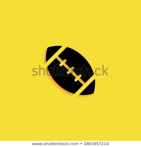amerikaanse · voetbal · haast · 10 · paar · team - stockfoto © robStock