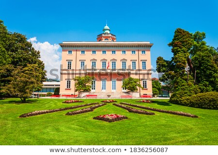 Villa Ciani, Lugano Stock photo © borisb17