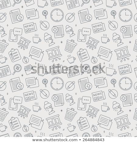 календаря · икона · дизайна · стиль · долго · тень - Сток-фото © netkov1