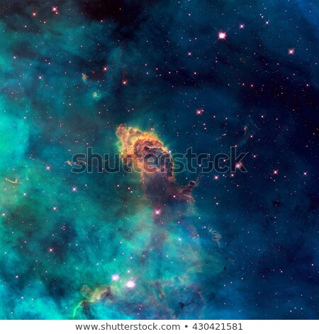 Universe filled with stellar jet, stars, nebula and galaxy. Stock photo © NASA_images