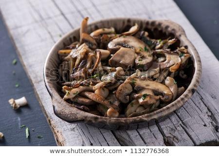 cooked mixed mushrooms stock photo © nito
