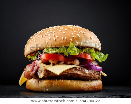 Stok fotoğraf: Fresh Tasty Burger