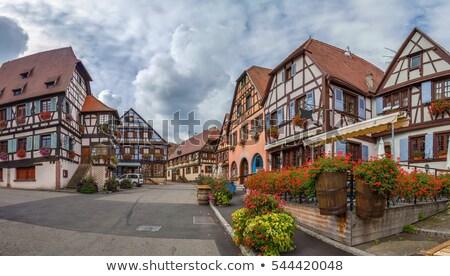 Mercado cuadrados Francia histórico casas Foto stock © borisb17