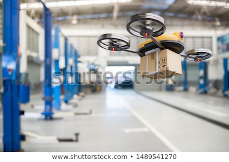 Modern drone delivery service Stock photo © jossdiim