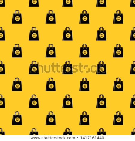 Duty Free Shop Store Seamless Pattern Vector Stock photo © pikepicture
