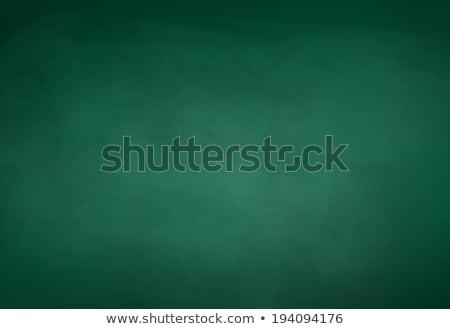 terug · naar · school · Blackboard · 3D · geïsoleerd · schildersezel · tekst - stockfoto © marinini