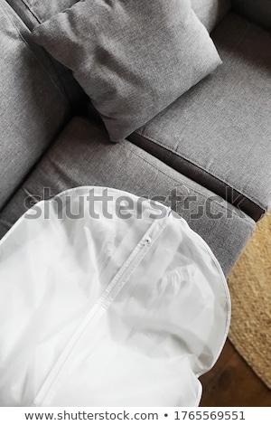 Enforcamento isolado branco moda Foto stock © kitch