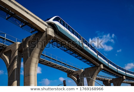 monorail Stock photo © leungchopan