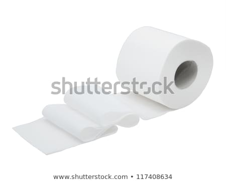 rolled in toilet paper roll stock photo © imaster