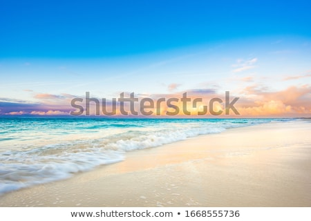 Grace Bay Beach sunset Stock photo © jsnover