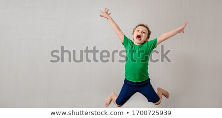 child will jump Stock photo © Paha_L