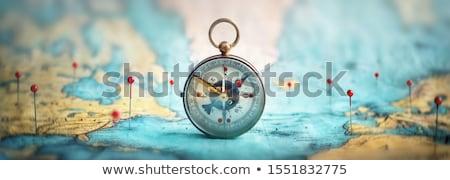 Сток-фото: Travelling Compass