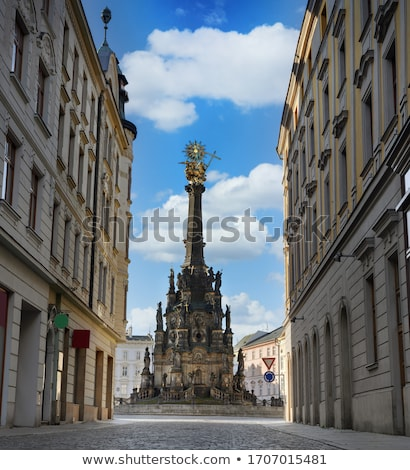 Centre of the town of Olomouc (UNESCO World Cultural Heritage) Stock photo © frank11